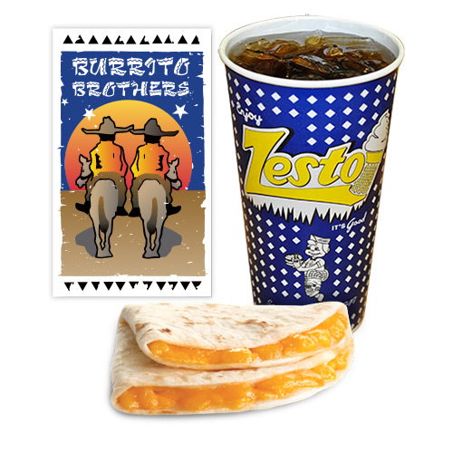 Burrito Brothers Kid's Meal